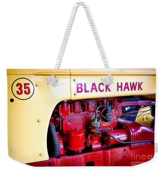 Cockshutt Black Hawk  Weekender Tote Bag