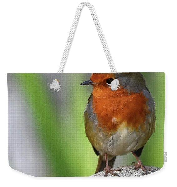 Cocky Robin Weekender Tote Bag