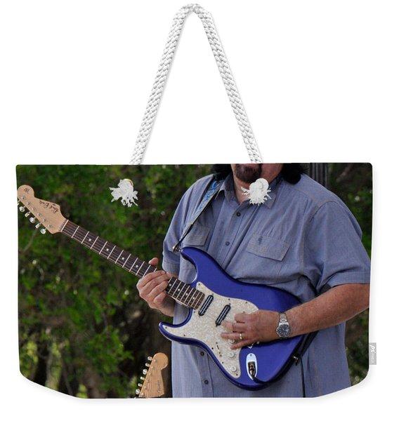 Coco Montoya And His Ocean Blue Fender American Standard Stratoc Weekender Tote Bag