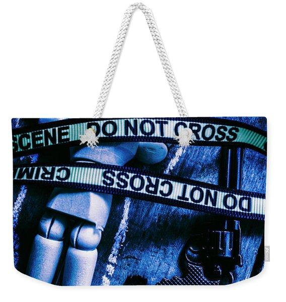 Code Blue Csi Weekender Tote Bag