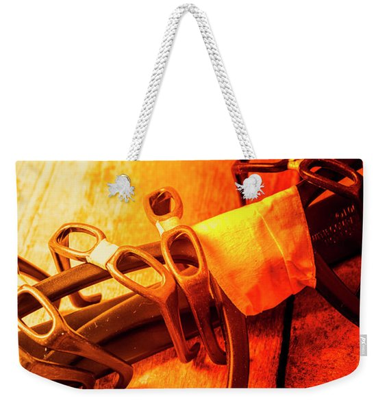 Code Red Nerd Alert Weekender Tote Bag