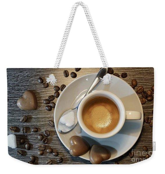 Coffee #1 Weekender Tote Bag