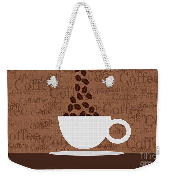 Coffee #3 Weekender Tote Bag