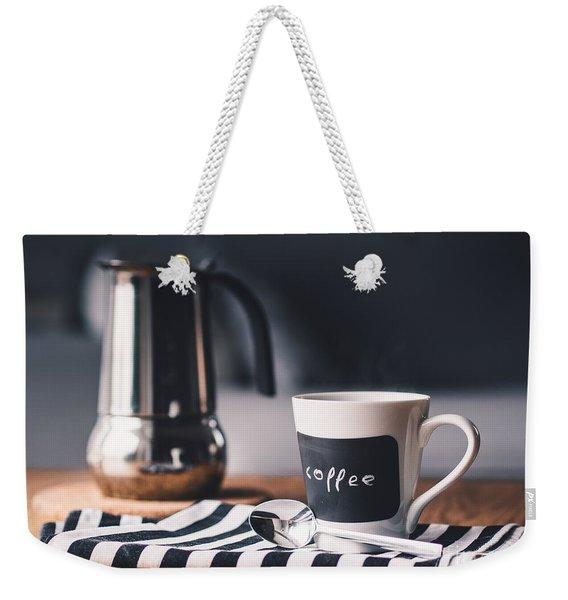 Coffee #5  Weekender Tote Bag