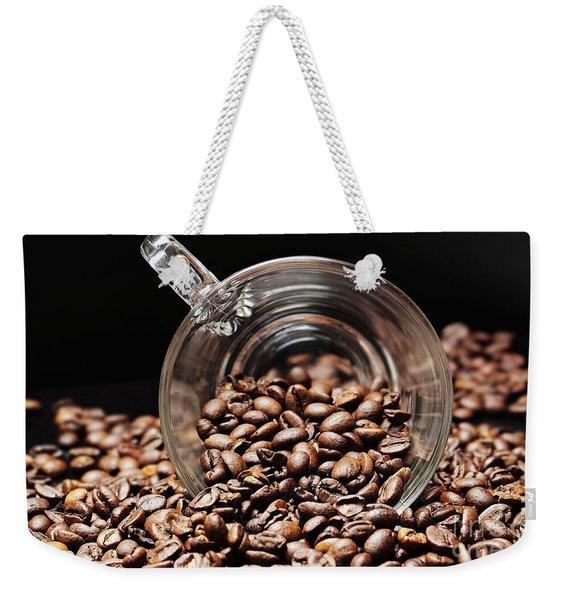Coffee #9 Weekender Tote Bag