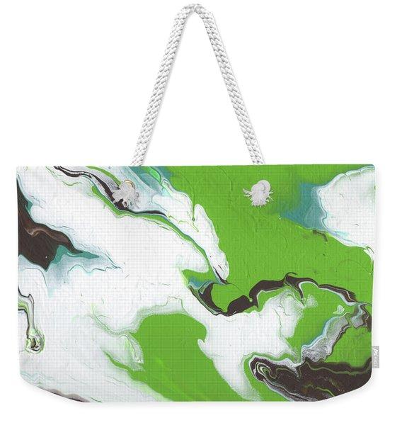 Coffee Bean 1- Abstract Art By Linda Woods Weekender Tote Bag