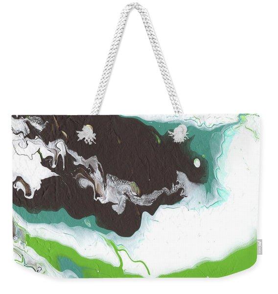 Coffee Bean 2- Abstract Art By Linda Woods Weekender Tote Bag