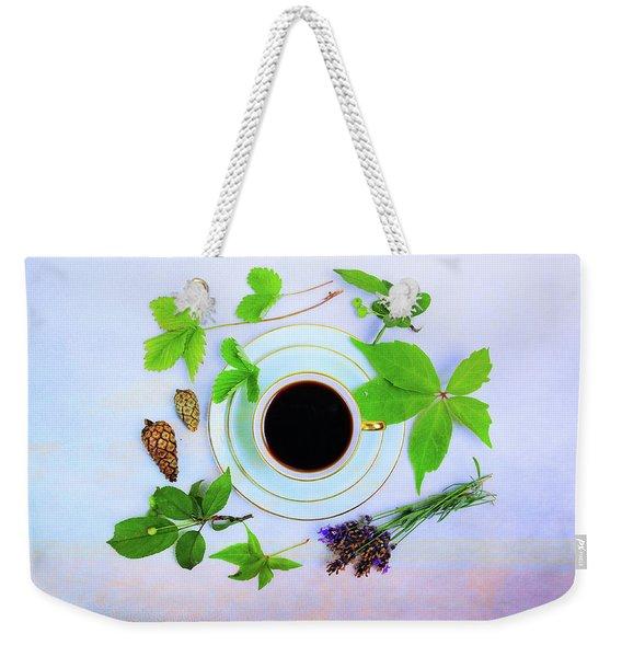 Coffee Delight Weekender Tote Bag