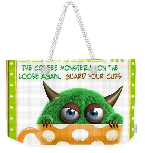 Coffee Love  Weekender Tote Bag
