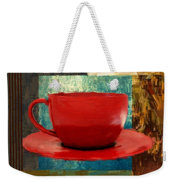 Coffee Lover Weekender Tote Bag