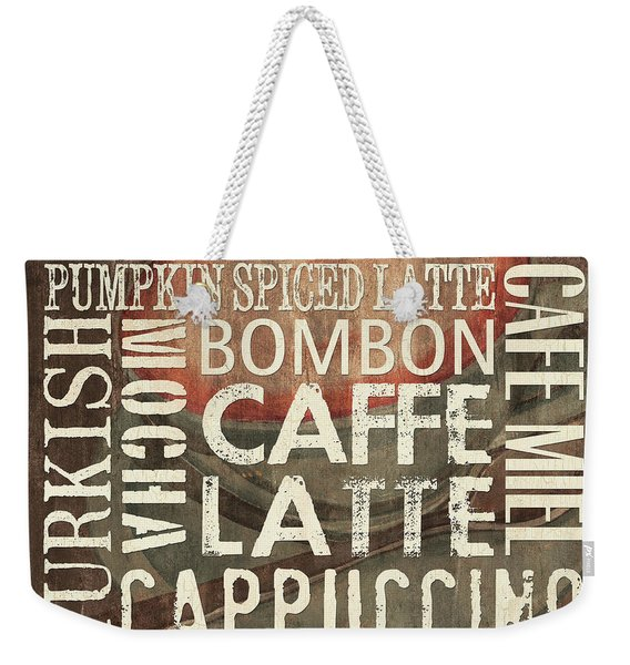 Coffee Of The Day 2 Weekender Tote Bag