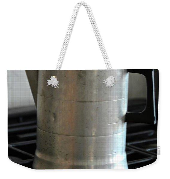 Coffee Pot Weekender Tote Bag