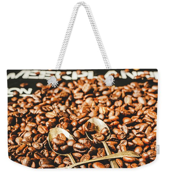 Coffee Service Scene Weekender Tote Bag
