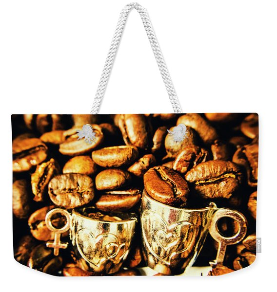 Coffee Shop Companions  Weekender Tote Bag