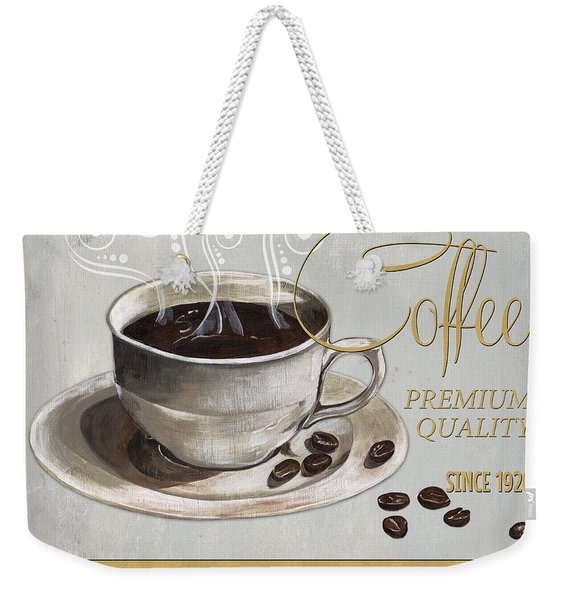 Coffee Shoppe 1 Weekender Tote Bag