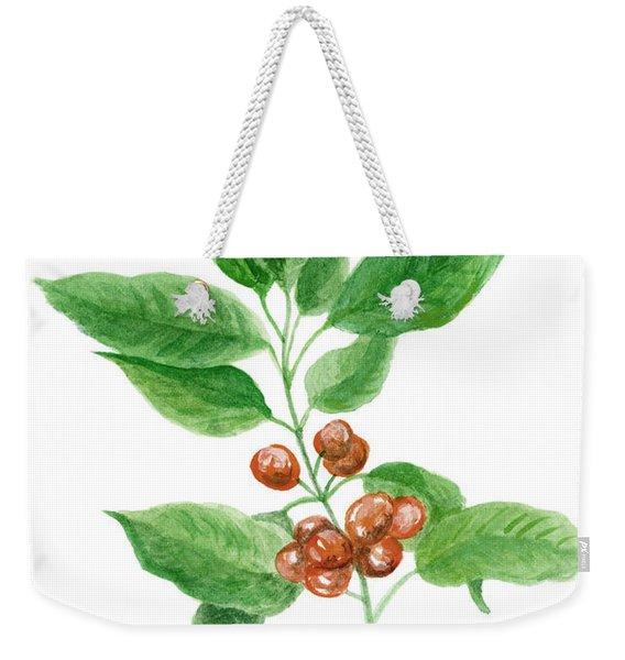 Coffee Watercolor Painting 1 Weekender Tote Bag