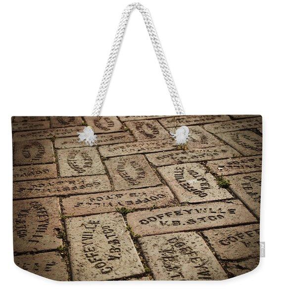 Coffeyville Bricks Weekender Tote Bag