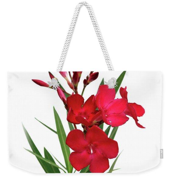 Cog  Nerium Oleander Emile Sahut Weekender Tote Bag