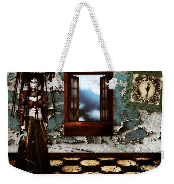 Cogitatione Abstracta Weekender Tote Bag