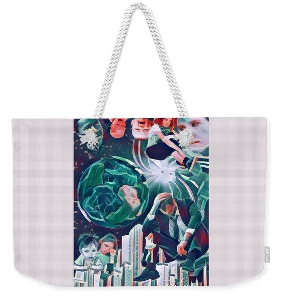 Cognitive Dissonance Weekender Tote Bag