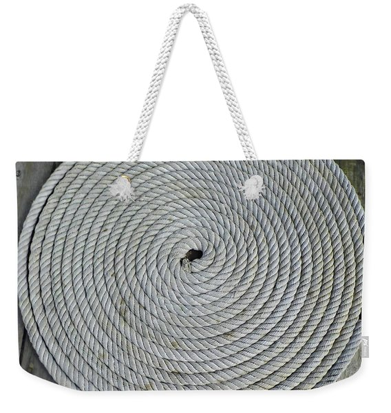 Coiled By D Hackett Weekender Tote Bag