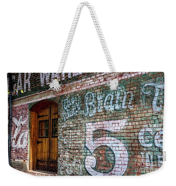 Coke And 5 Cent Cigars Weekender Tote Bag