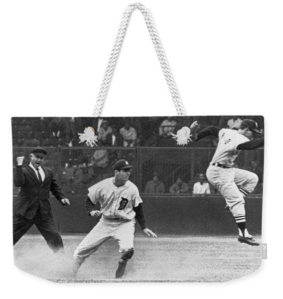 Colavito And Aparicio Weekender Tote Bag