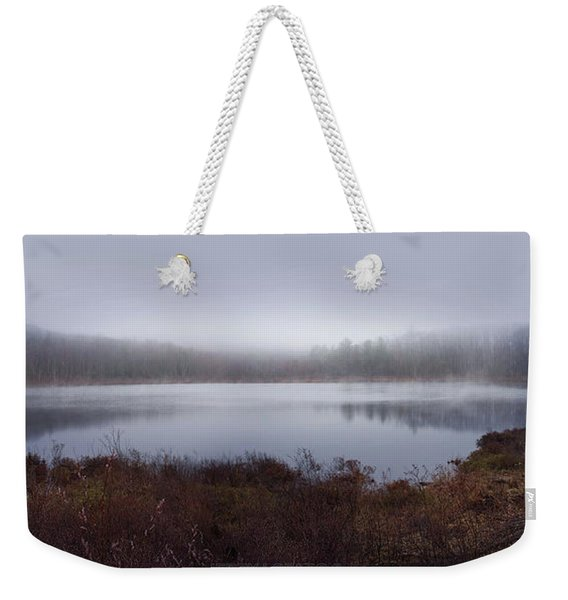 Cold And Misty Morning... Weekender Tote Bag