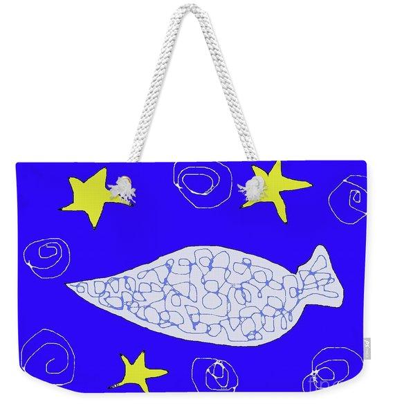 Cold Beauty Weekender Tote Bag