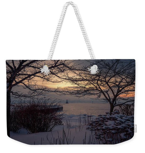 Cold Fingers Weekender Tote Bag