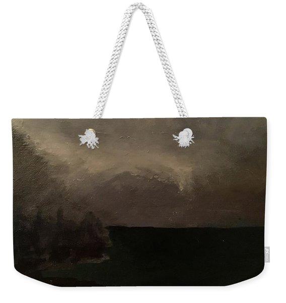 Cold Fog And Sea Weekender Tote Bag