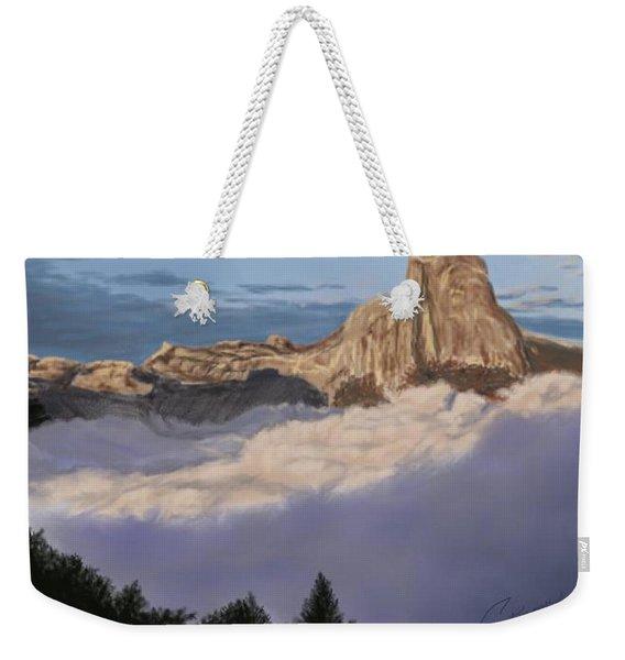 Cold Mountains Weekender Tote Bag