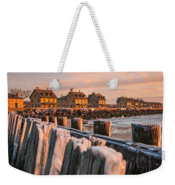 Cold Row Weekender Tote Bag