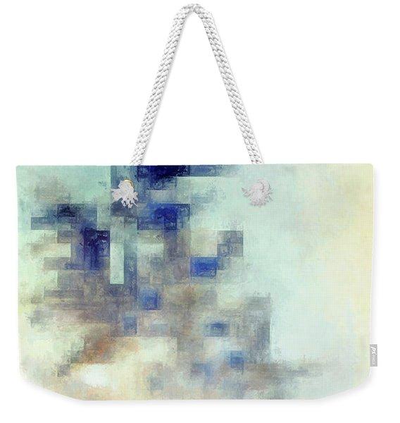 Cold Weekender Tote Bag