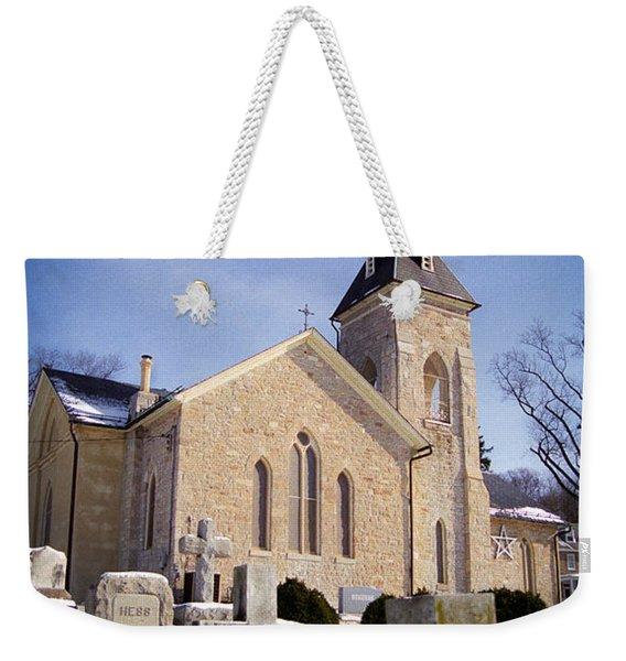 Cold Stone Service Weekender Tote Bag