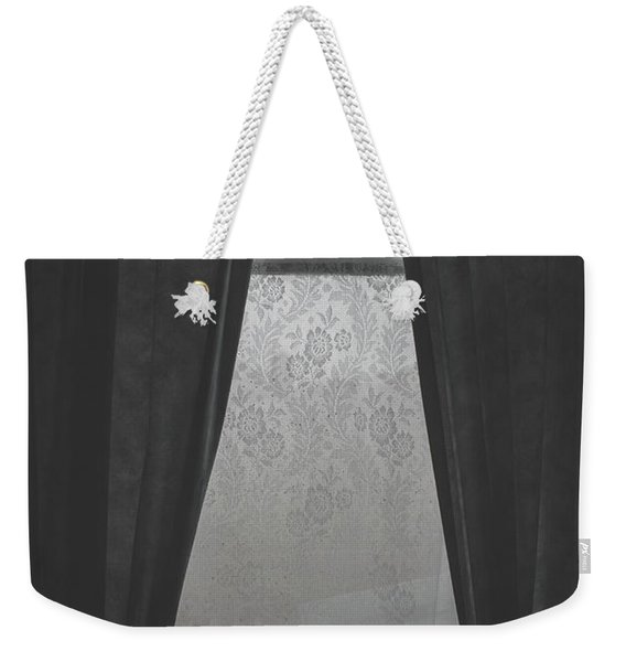 Cold Winter Window Weekender Tote Bag