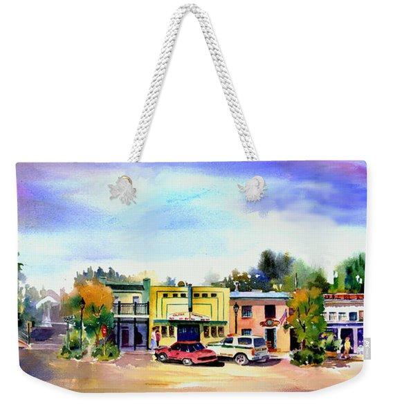 Colfax Main And Church Street Weekender Tote Bag