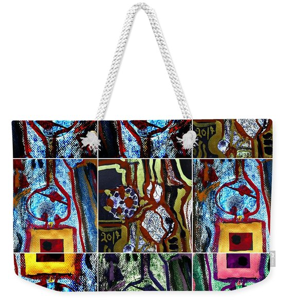 Collage-1 Weekender Tote Bag