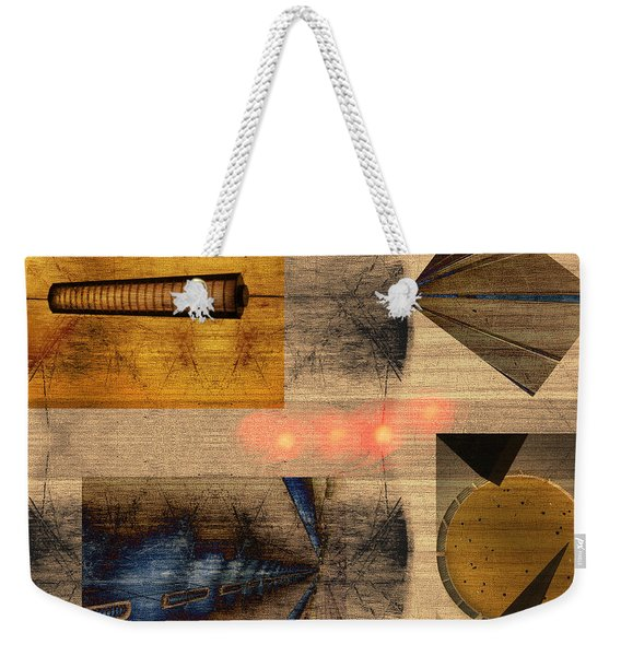 Collage - Cle Airport Weekender Tote Bag