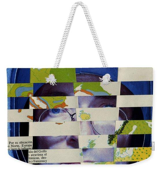 Collage Verso Weekender Tote Bag
