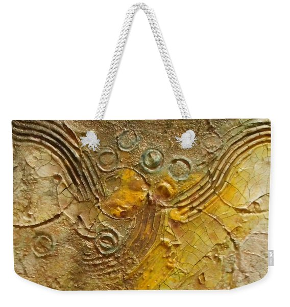 Colliding Worlds Weekender Tote Bag