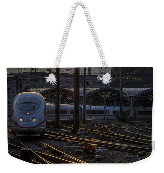 Cologne Central Station Weekender Tote Bag