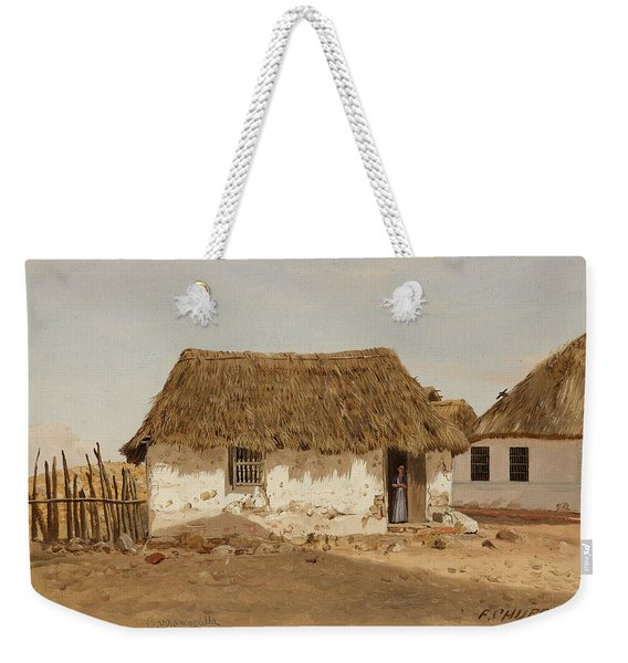 Colombia Barranquilla Two Houses  Weekender Tote Bag
