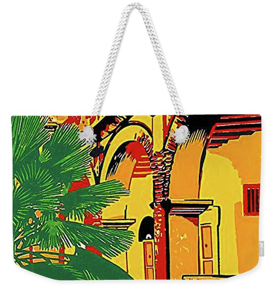 Colombia, Know Beautiful History Weekender Tote Bag