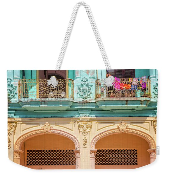 Colonial Architecture Weekender Tote Bag