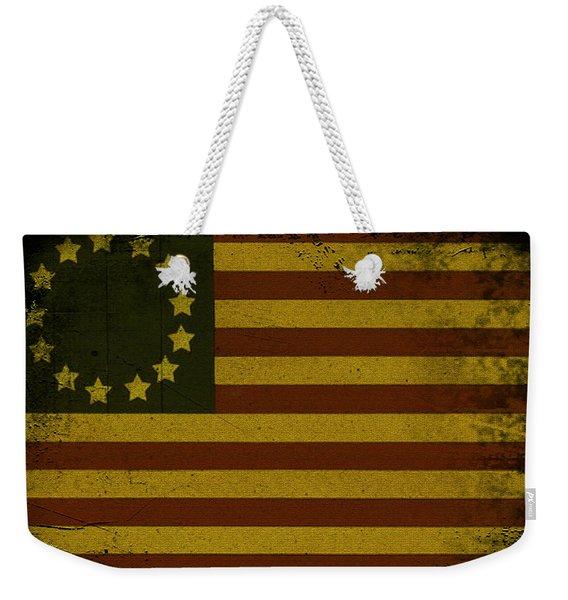 Colonial Flag Weekender Tote Bag