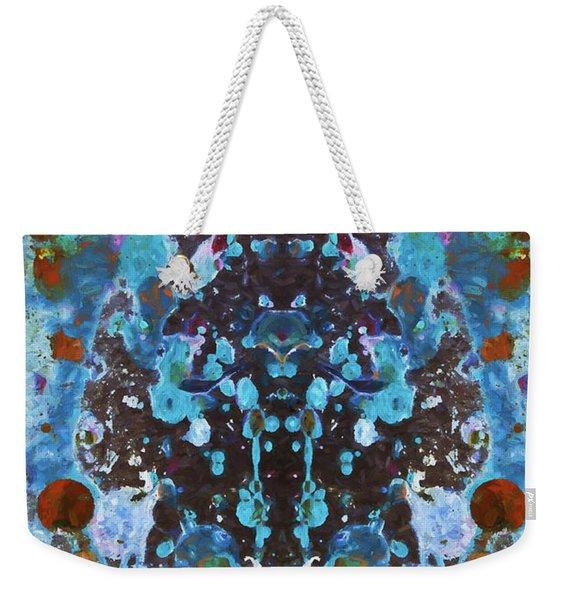 Color Abstraction Iv Weekender Tote Bag