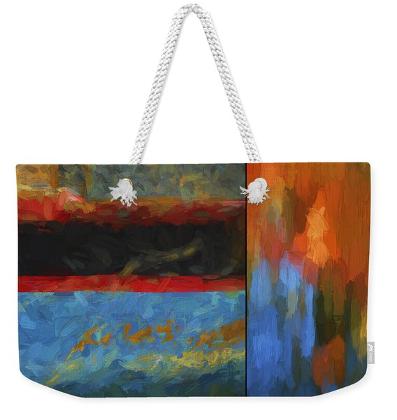 Color Abstraction Li  Weekender Tote Bag
