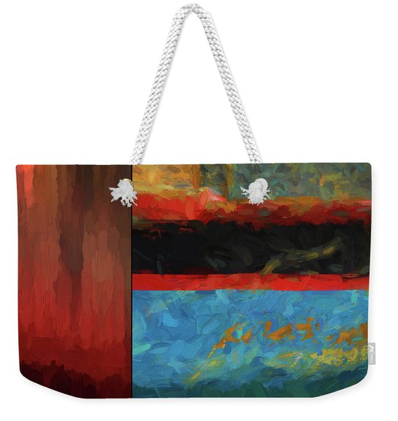 Color Abstraction Lxi Weekender Tote Bag