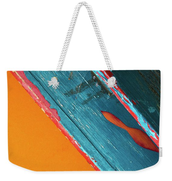 Color Abstraction Lxii Sq Weekender Tote Bag